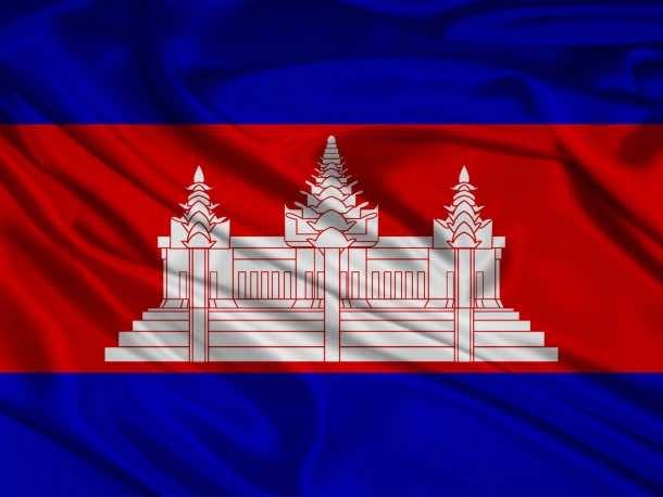 Cambodia flag (22)