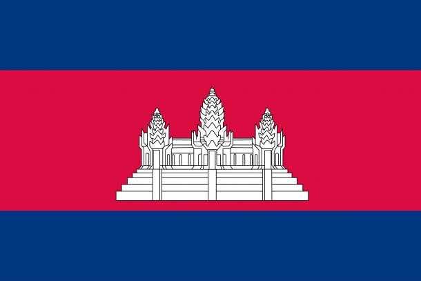 Cambodia flag (3)