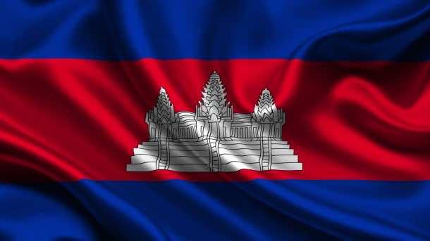 Cambodia flag (4)