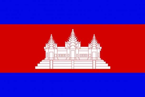 Cambodia flag (5)