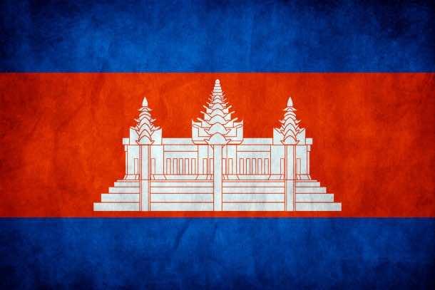 Cambodia flag (6)