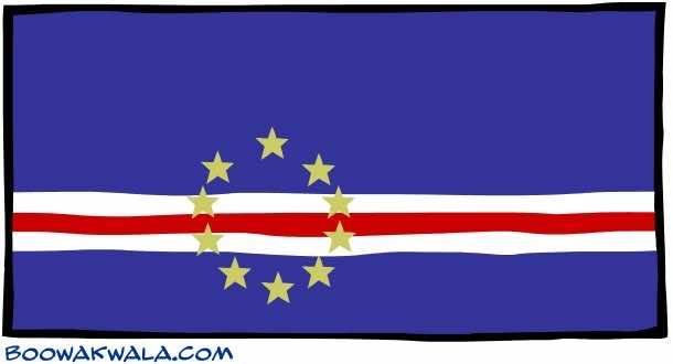 Cape Verde Flag (10)