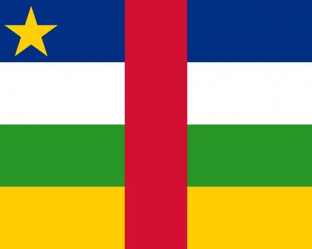 Central African Republic Flag (1)