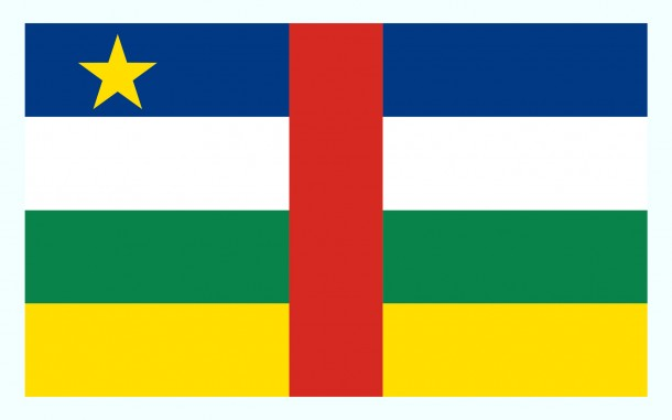 Central African Republic Flag (4)