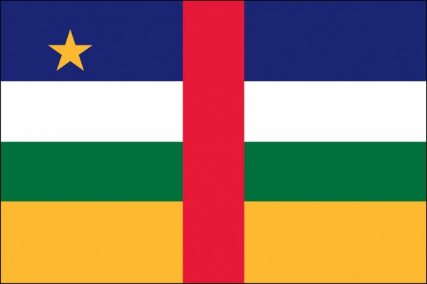 Central African Republic Flag (6)