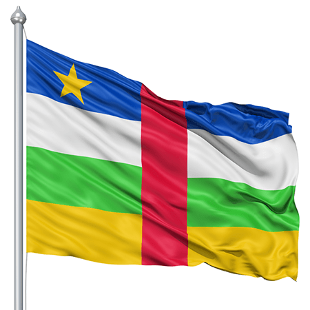 Central African Republic Flag (8)