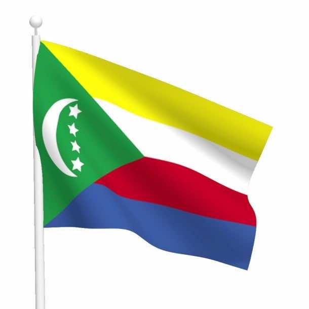 Comoros flag (10)