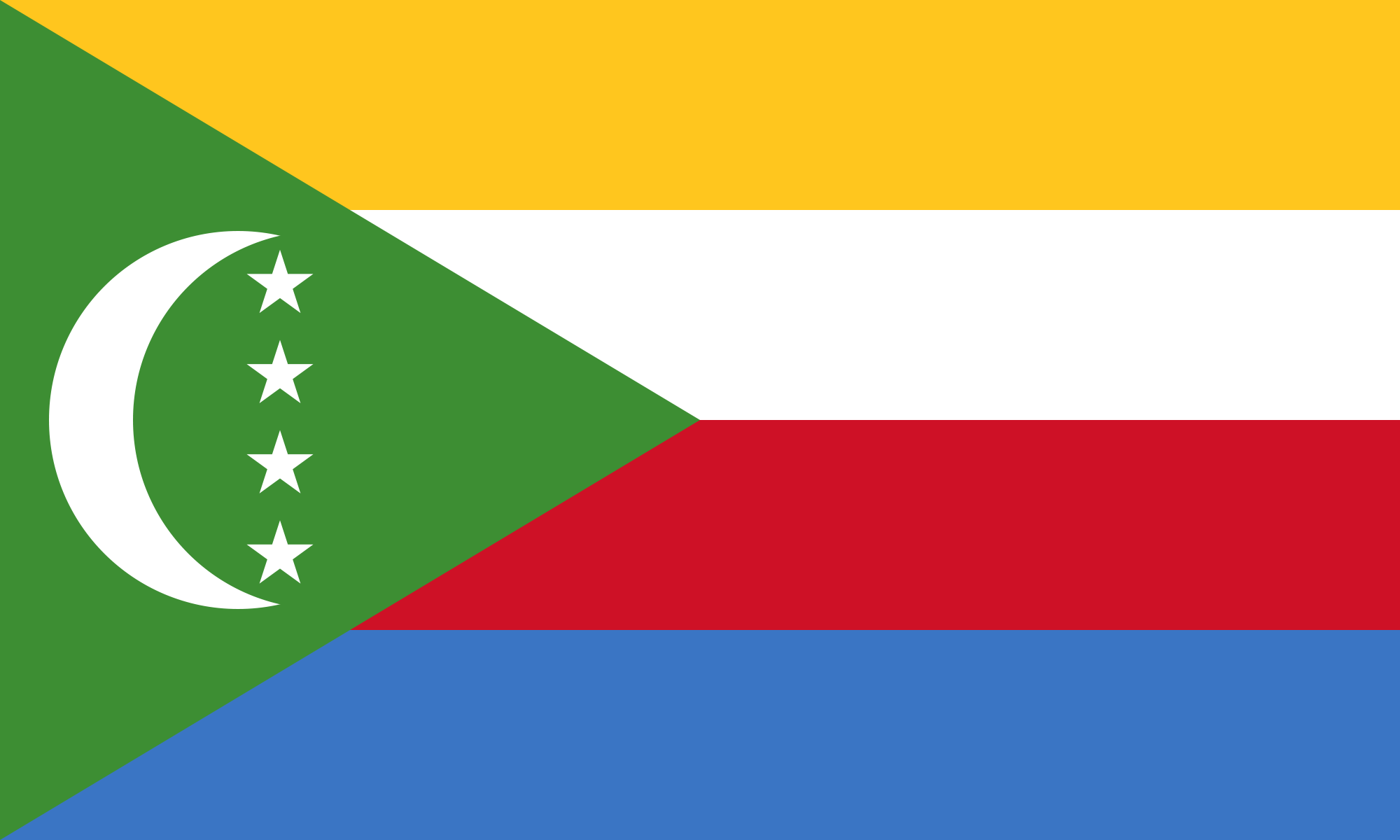 Flag Of Comoros In HD For Free Download COMOROS