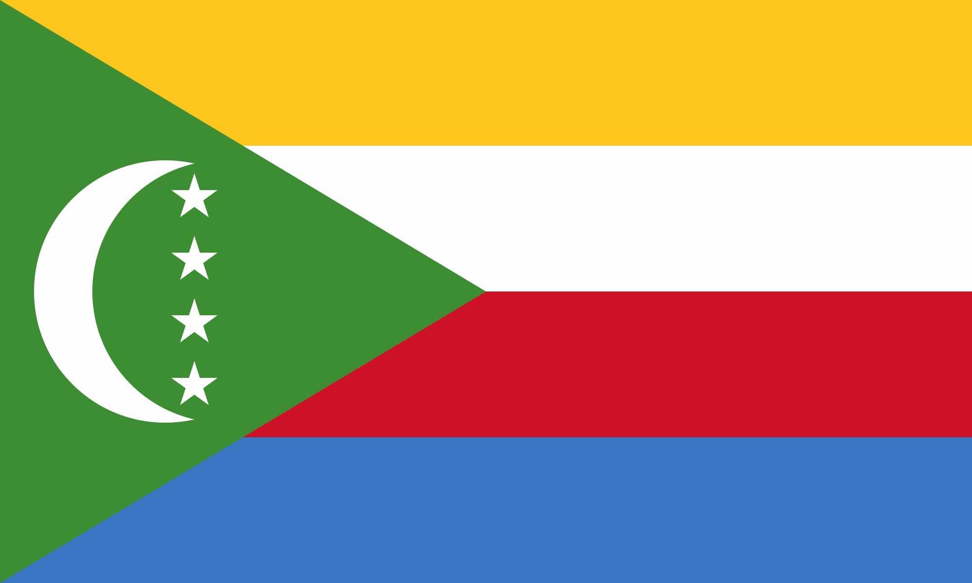 Comoros flag (9)