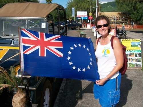 Cook Islands flag (2)