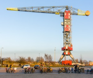 Faralda NDSM Crane Hotel, Neveritaweg, Amsterdam, The Netherland