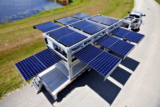 This Portable Solar Power Plant Can Provide Electricity Anywhere