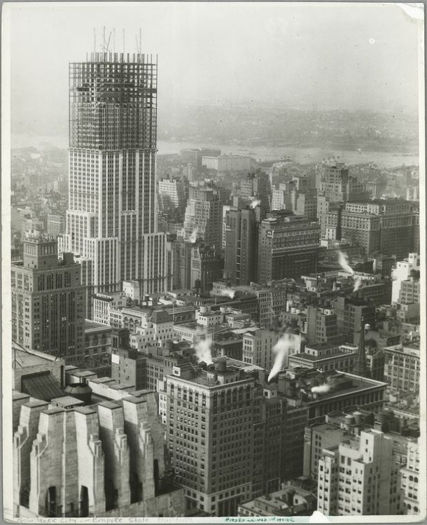 Empire State Building Construction 12