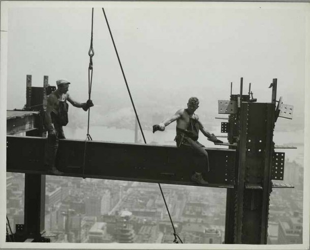 Empire State Building Construction 3