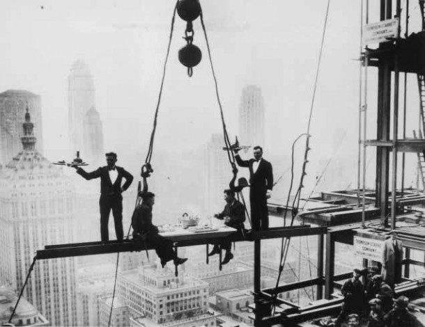 Empire State Building Construction 4
