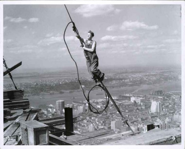 Empire State Building Construction 6