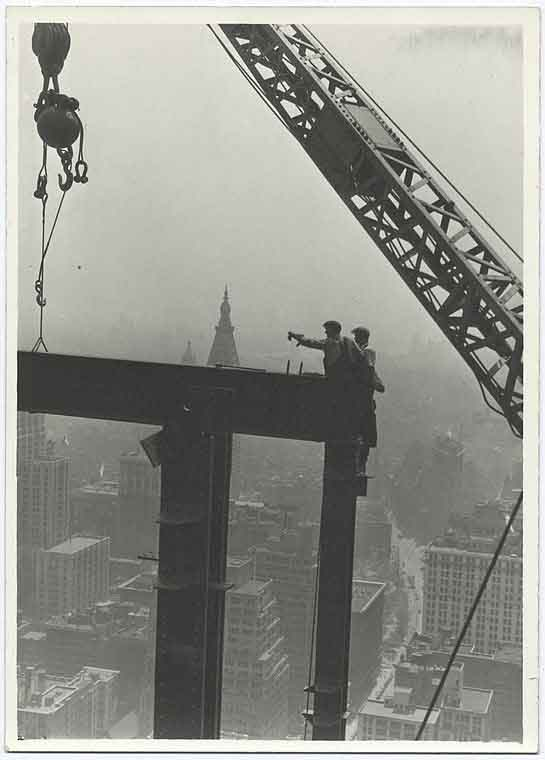 Empire State Building Construction 8
