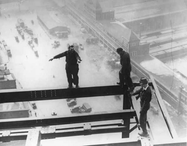 Empire State Building Construction 9