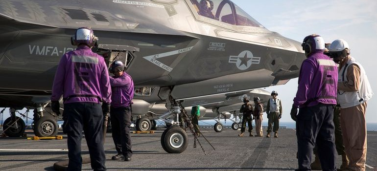 F-35B Lightning II Is In Action 2