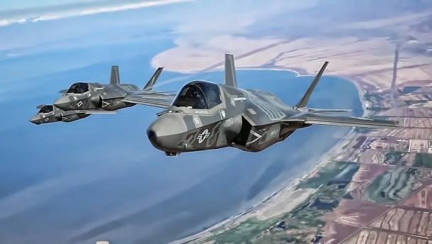 F-35B Lightning II Is In Action 3