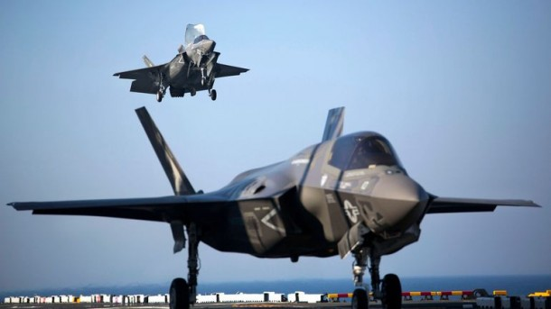 F-35B Lightning II Is In Action