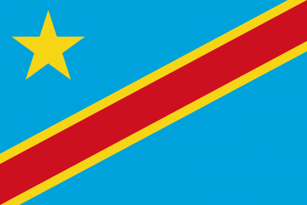 Flag of the Democratic Republic of the Congo flag (1)
