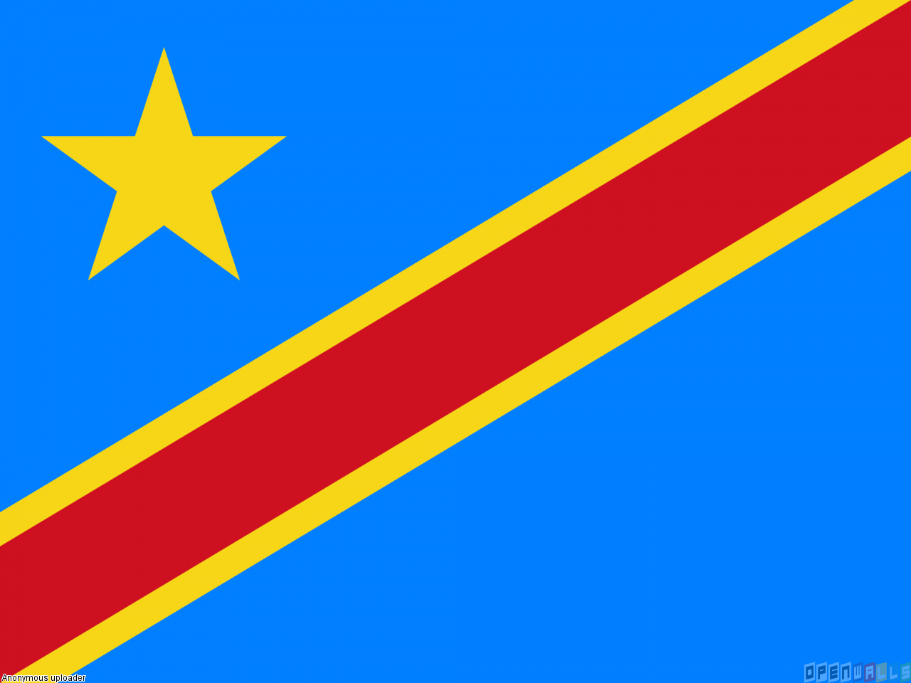 Flag of the Democratic Republic of the Congo flag (13)