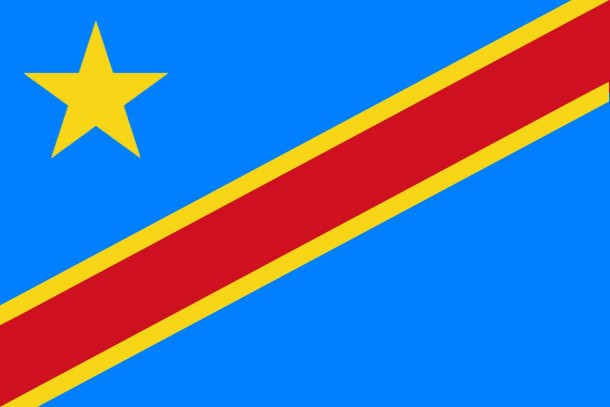 Flag of the Democratic Republic of the Congo flag (2)