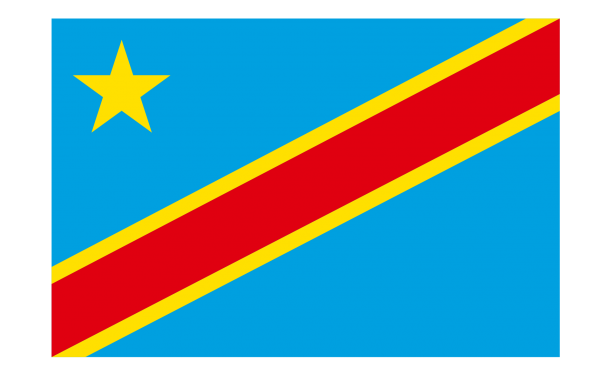 Flag of the Democratic Republic of the Congo flag (5)