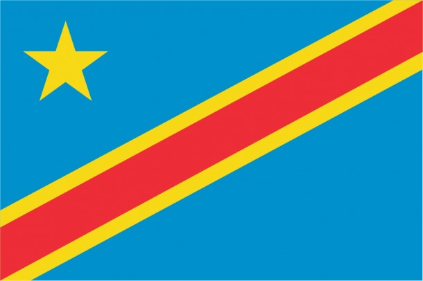 Flag of the Democratic Republic of the Congo flag (6)