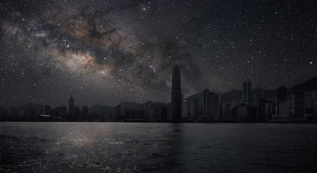 How Cities Would Look Without Pollution Of Light