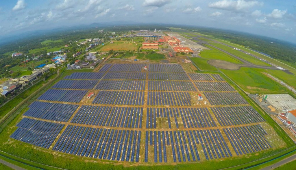 Indian airport goes solar