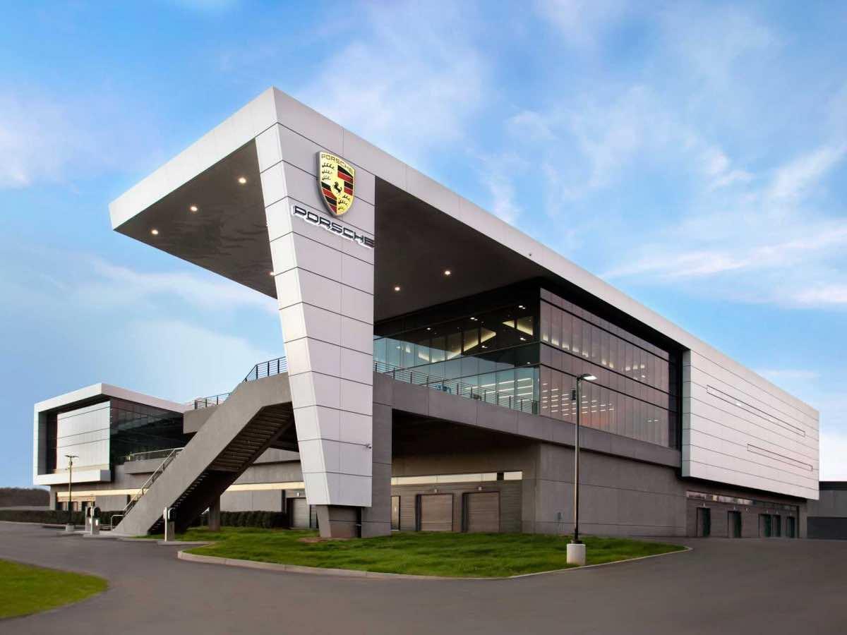 Porsche's New $100-million US Headquarters Is Amazingly Cool
