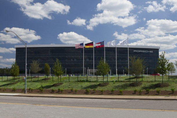 Porsche's New $100-million US Headquarters Is Amazingly Cool 10