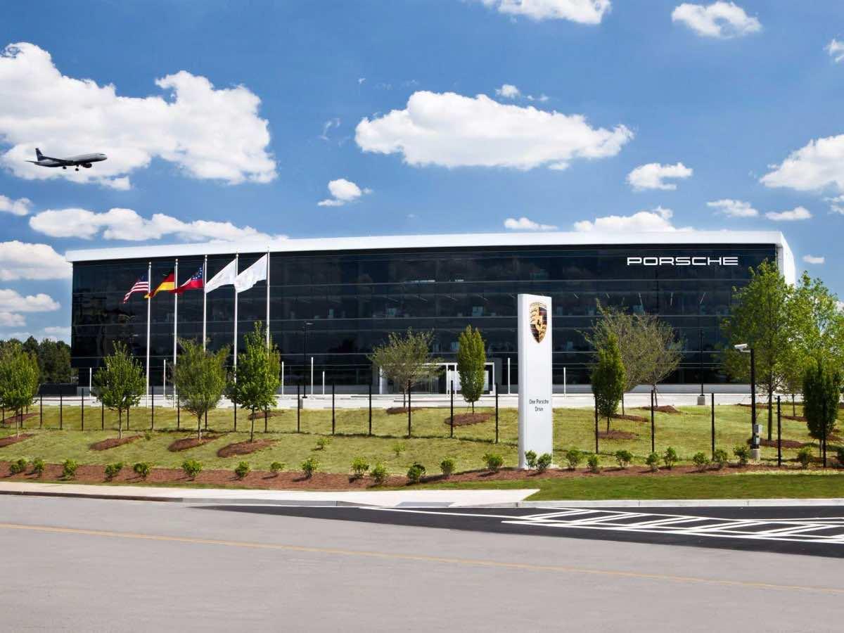 Porsche S New 100 Million Us Headquarters Is Every Man S