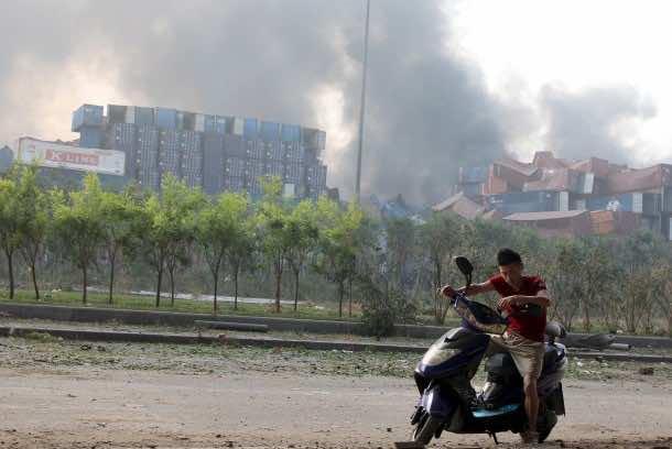 Tianjin blast4