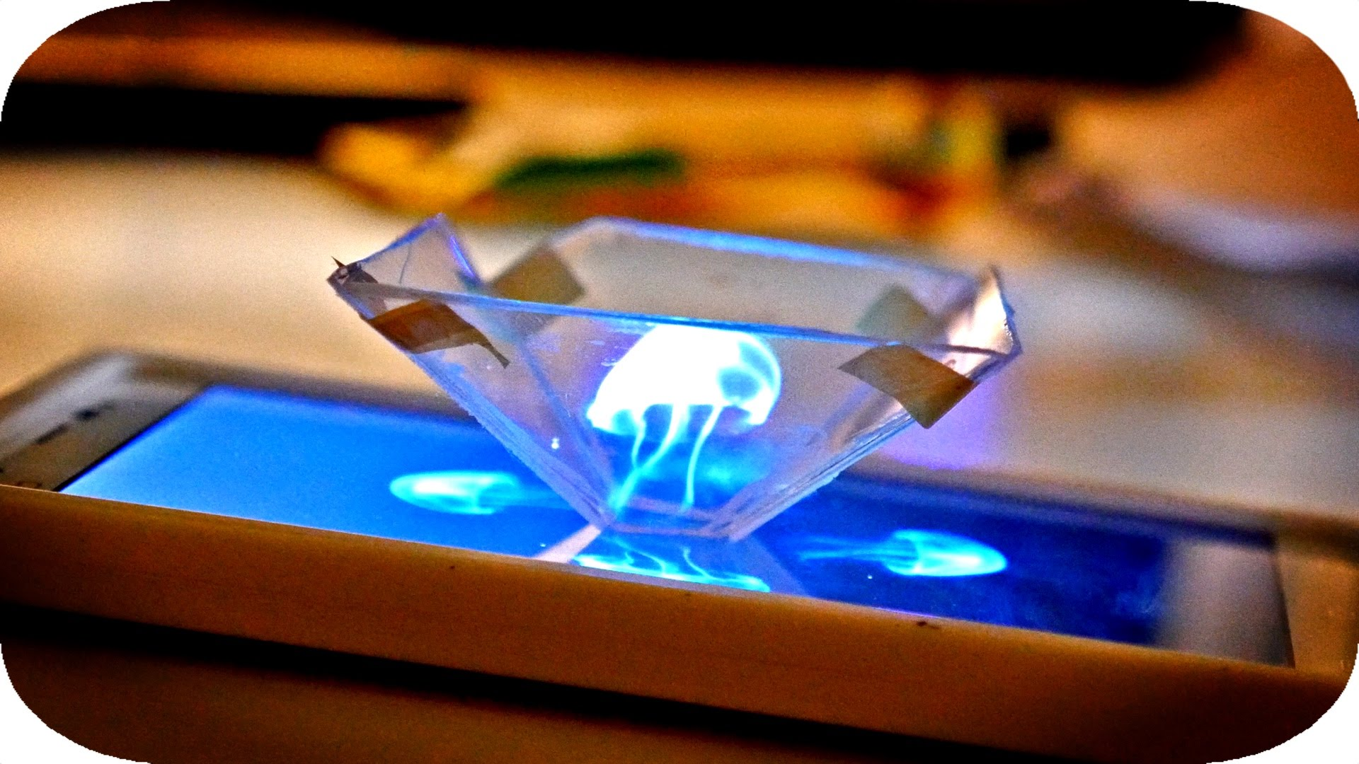 Transform Your Smartphone Into A 3D Hologram Projector 4