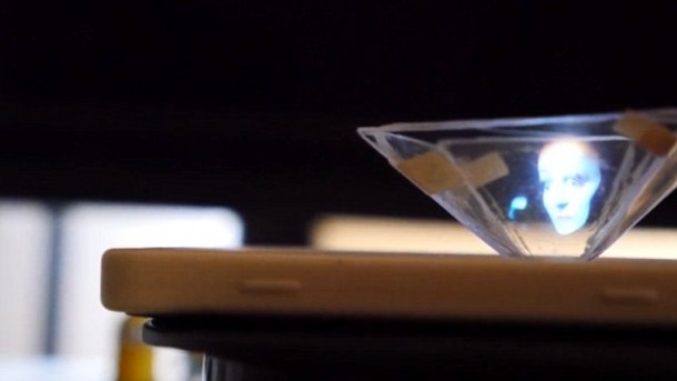 Transform Your Smartphone Into A 3D Hologram Projector 5