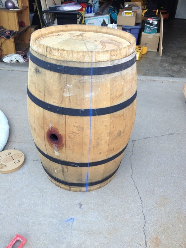 Wine barrel-table15