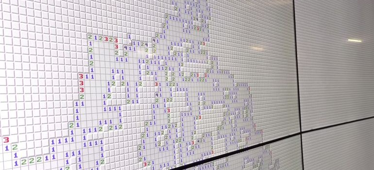 World's Largest Version of Minesweeper 3