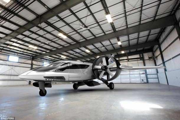 XTI VTOL aircraft