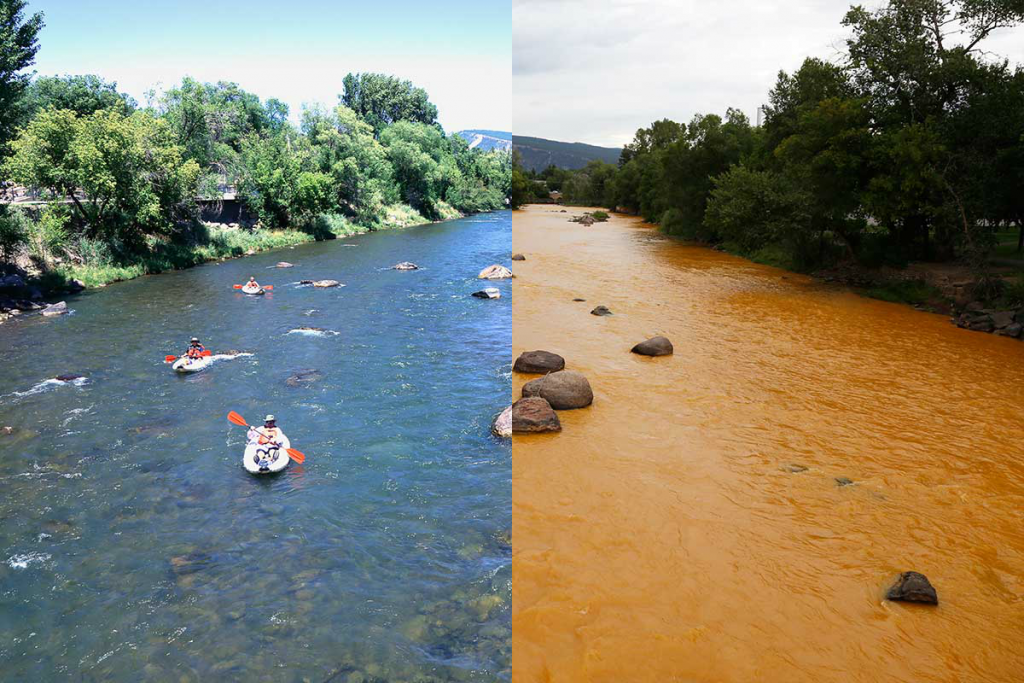 animas river yellow toxication