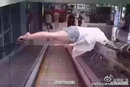escalator accident in China 2
