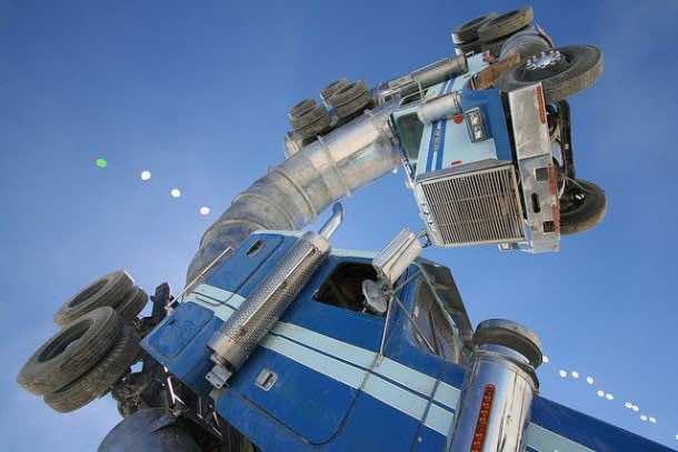 oil truck art