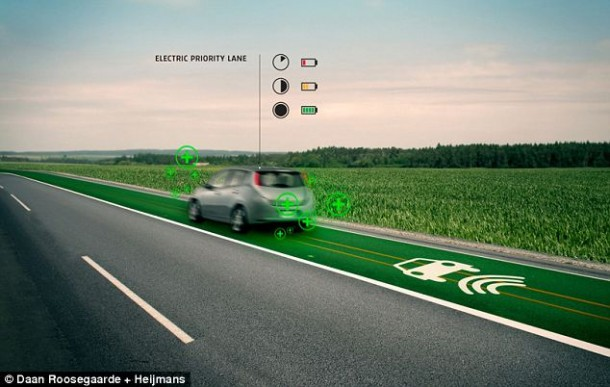 roads charging wirelessly