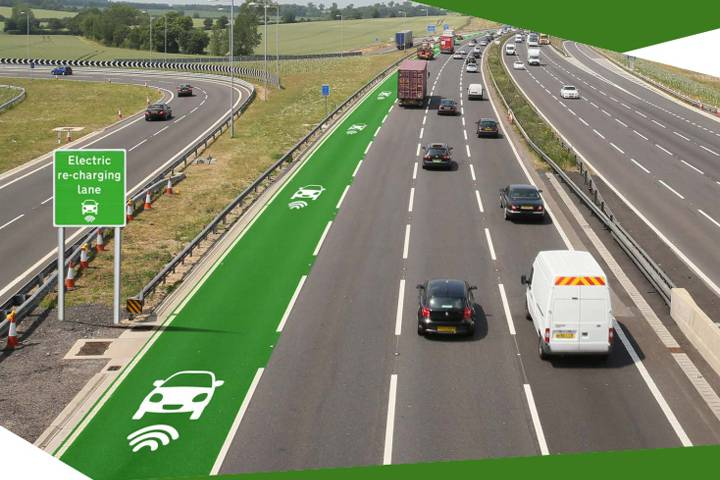 New British Roads Will Wirelessly Charge Electric Cars On The Go