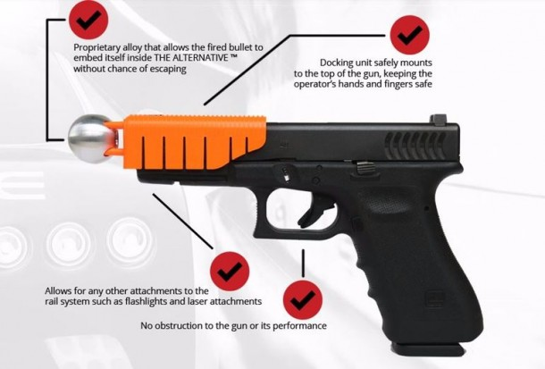 'The Alternative' Transforms Lethal Shot Into A Non-Lethal One