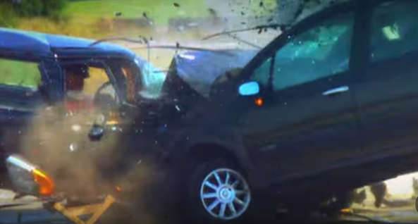 120mph Mega Crash Fifth Gear YouTube