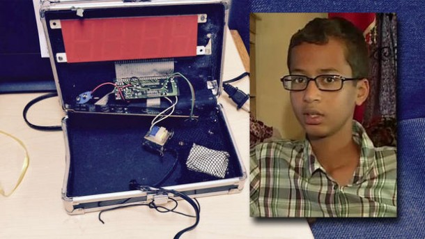 14 Year Old Suspended For Three Days For Making A Clock 4