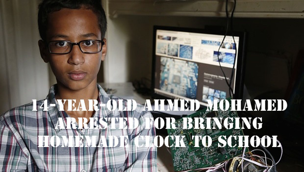 14 Year Old Suspended For Three Days For Making A Clock 6